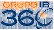 Grupo IB 360 – Telecomunicaciones Logo